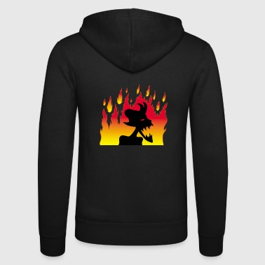 Demonic Demonic demon! - Unisex Hooded Jacket by Bella + Canvas