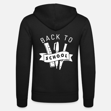 Back To School Back to School Back to school elementary school - Unisex Zip Hoodie