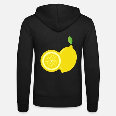 Lemon Lemon - Just a lemon - Unisex Zip Hoodie
