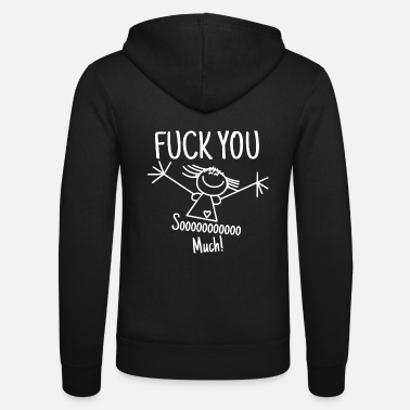 Fuck You Fuck You Fuck Fuck You Comic Gifts Shirts - Unisex Zip Hoodie