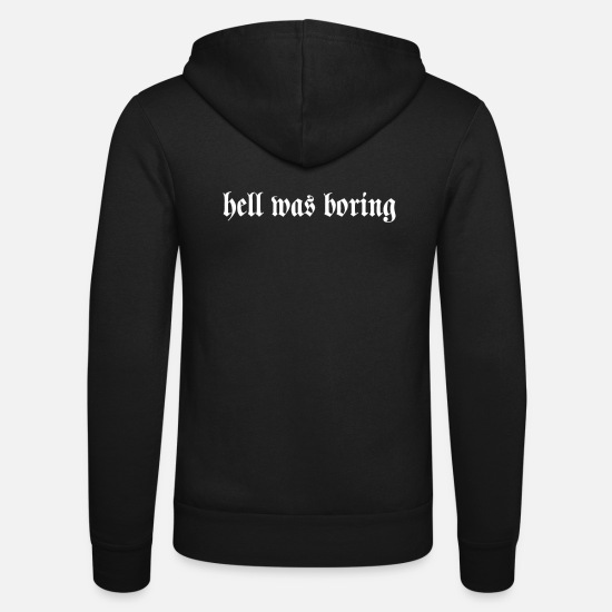 Gift Idea Hoodies & Sweatshirts - bright what boring - Unisex Zip Hoodie black