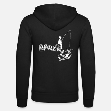Stylish Angeln - Unisex Kapuzenjacke