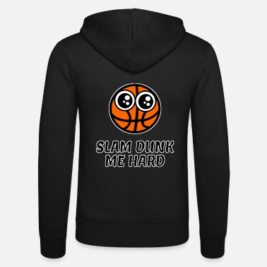 Slam Dunk Basketball cartoon slam dunk - Unisex Hooded Jacket by Bella + Canvas