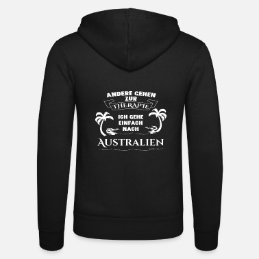 Madagascar Australia - therapy - holiday - Unisex Zip Hoodie