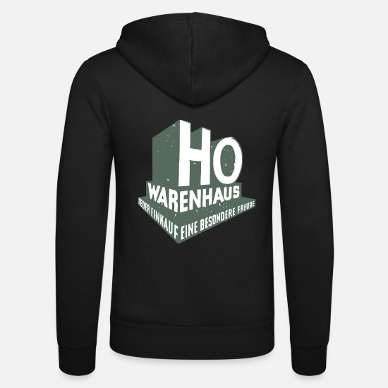 Business Hoodies & Sweatshirts - HO department store GDR - Unisex Zip Hoodie black