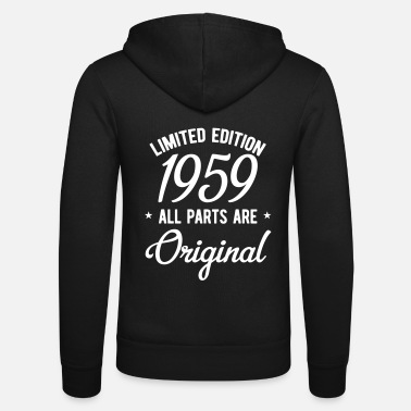 Birthday 60th birthday limited edition gift for the 60th - Unisex Zip Hoodie