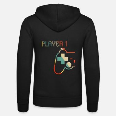Matching Gamer Couple Player 1 Player 2 Chemise - Veste à capuche unisexe