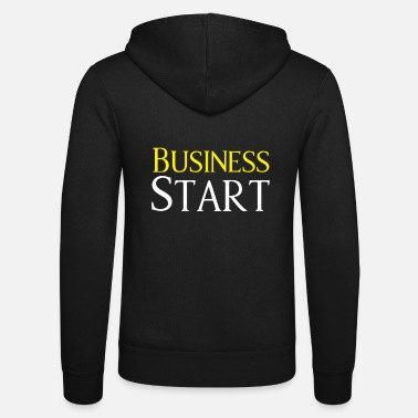 Start Start Up Business Start - Felpa con zip unisex