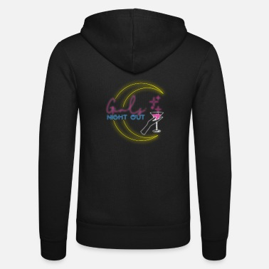 Disco Girls Night Out design for party cocktail fans - Unisex Zip Hoodie