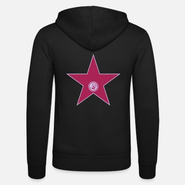 Laugh walk of fame + your name - Unisex Zip Hoodie