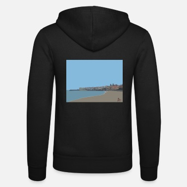 Cefalü Cefalu by The Artful Scribbler - Unisex Zip Hoodie