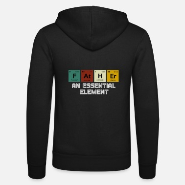Element Dad An Essential Element Periodic Table - Unisex Zip Hoodie