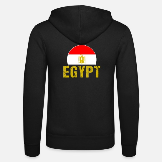 Patriot Hoodies & Sweatshirts - Egypt - Unisex Zip Hoodie black