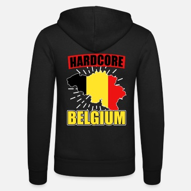 National Colours Belgium nationality national colors - Unisex Zip Hoodie