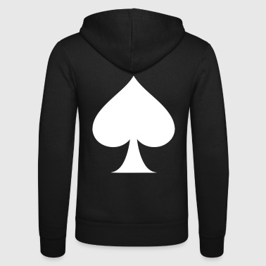 Poker PIK ASS - Unisex-hettejakke fra Bella + Canvas