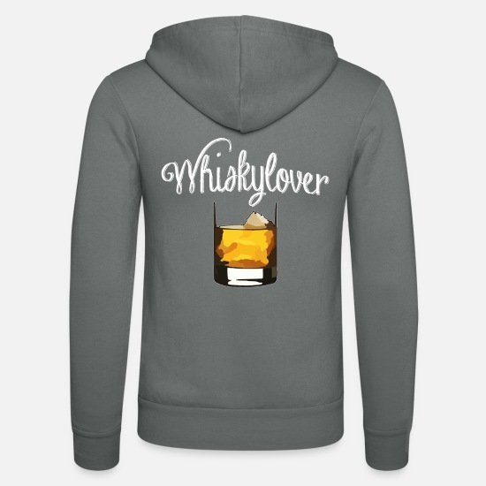 Présenter Sweat-shirts - whisky - Veste à capuche unisexe gris