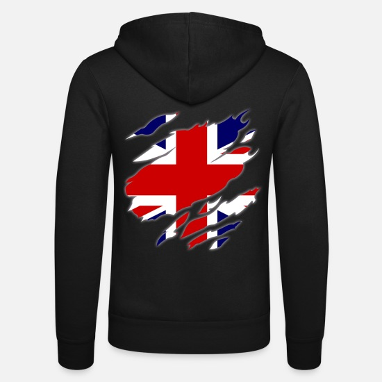 Big Ben Hoodies & Sweatshirts - Great Britain - Unisex Zip Hoodie black