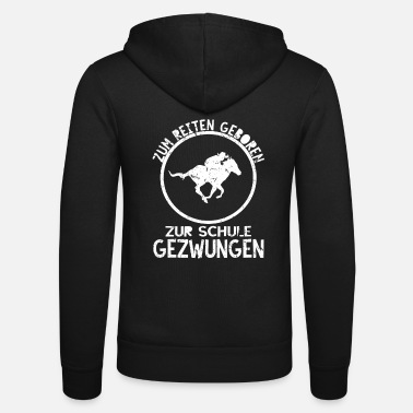 Equitation Riding horses equitation - Unisex Zip Hoodie