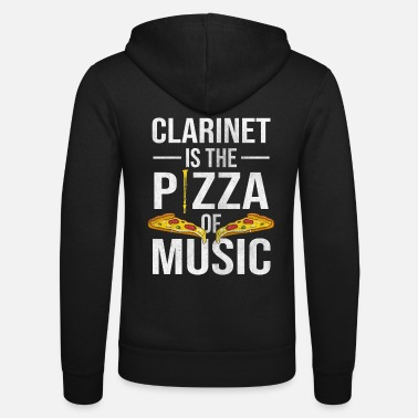 Pizza Klarinette Pizza - Unisex Kapuzenjacke