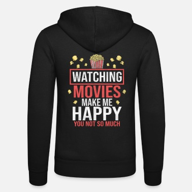 Cinema Cinema movie popcorn - Unisex Zip Hoodie