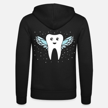 Tooth Tooth fairy tooth - Unisex Zip Hoodie