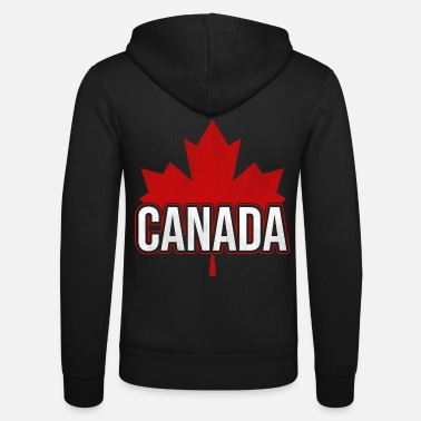 Leaf Maple leaf Canada - Unisex Zip Hoodie