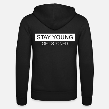 Stay Young STAY YOUNG - Unisex Zip Hoodie
