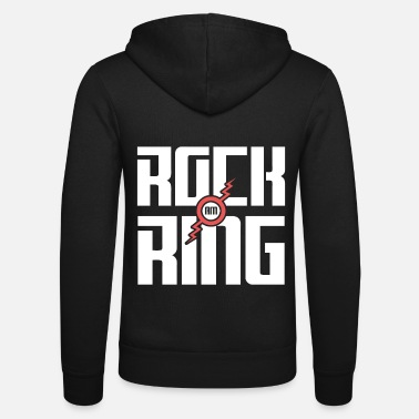 Rock Am Ring Rock am Ring Rock Music Biker Rocker Gift Jazz - Bluza rozpinana z kapturem unisex