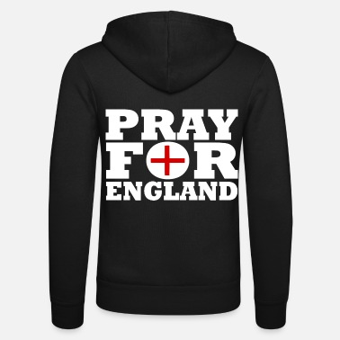 England England / Pray For England - Unisex Zip Hoodie