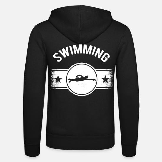 Aquatics Hoodies & Sweatshirts - swim - Unisex Zip Hoodie black