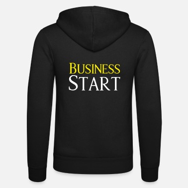Start Start op Business Start - Unisex hættejakke