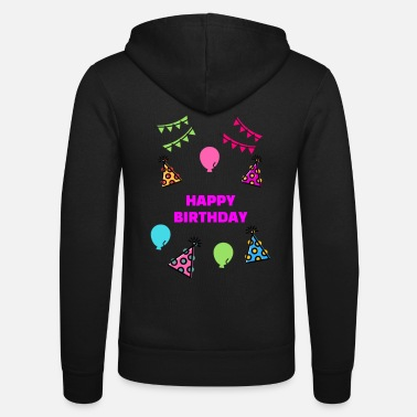 Happy Birthday Happy Birthday Party Design - Unisex Bella + Canvas -hupputakki