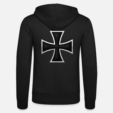 Cross Iron Cross - Unisex Zip Hoodie