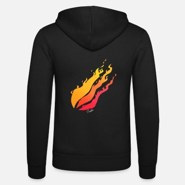 Preston Merch Preston Flame - Unisex Zip Hoodie
