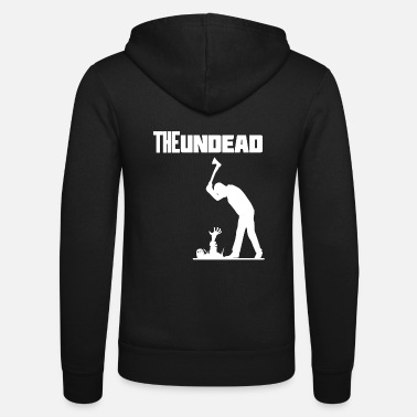 Undead The undead Halloween - Unisex Kapuzenjacke von Bella + Canvas