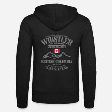 Ski Resort Whistler Ski Resort - Canada - Unisex hupputakki