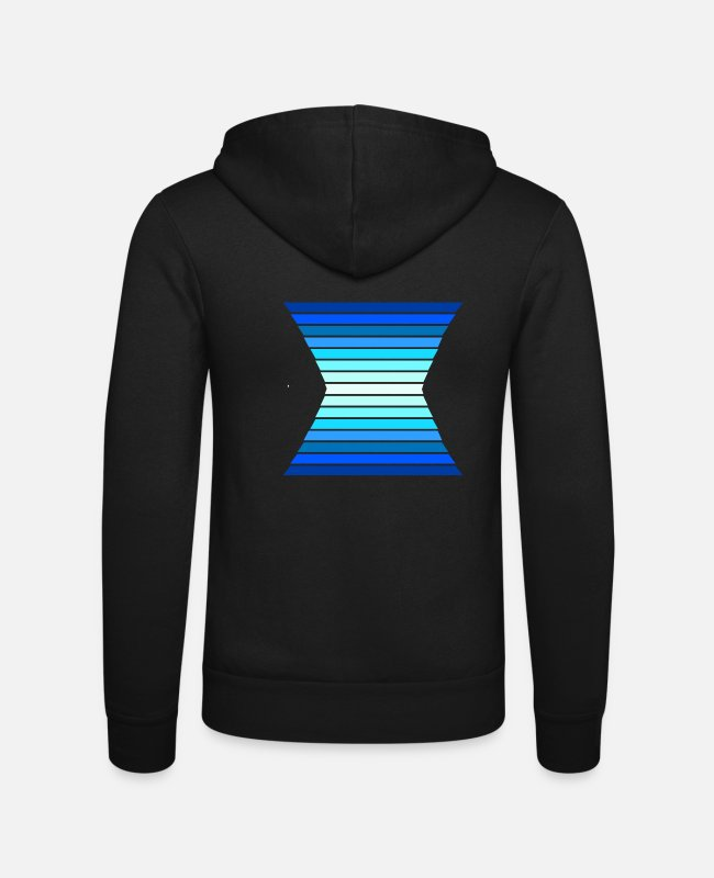 Artist Hoodies & Sweatshirts - color form - Unisex Zip Hoodie black