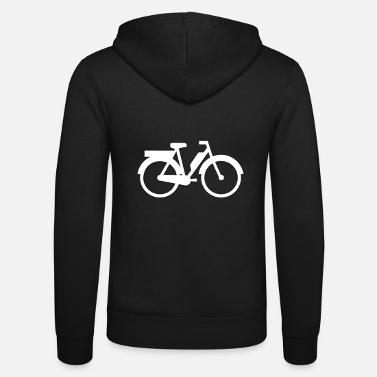Motorcycle Hoodies & Sweatshirts - moped - Unisex Zip Hoodie black