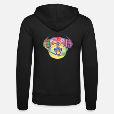 Design Disco Cat - Unisex Kapuzenjacke