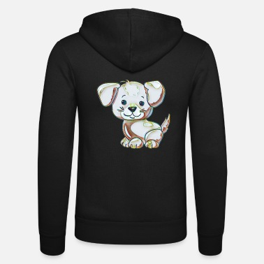 Collection For Kids Cute dog - Unisex Zip Hoodie