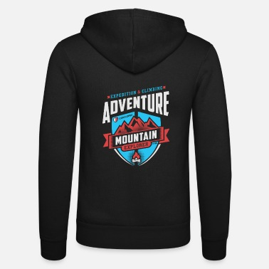 Graphic Art Adventure Graphic Art - Unisex Zip Hoodie