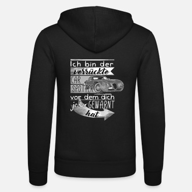 Supercar Carspotter - Cars, Supercars, Event - Unisex Hooded Jacket by Bella + Canvas