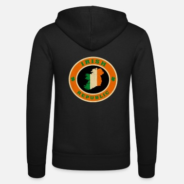 Celtic Irish Republic / Geschenk - Unisex Kapuzenjacke