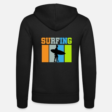 FELPA CON CAPPUCCIO UOMO BAMBINO EVOLUZIONE SURF SURFISTA ONDE MARE | eBay