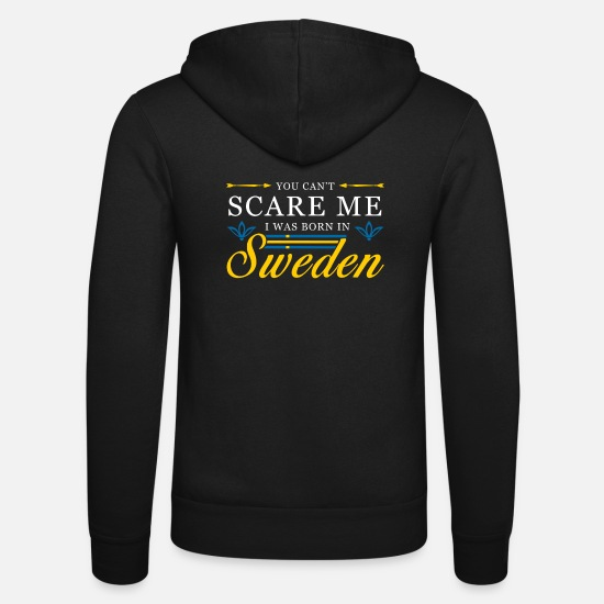 Sweden Hoodies & Sweatshirts - sweden - Unisex Zip Hoodie black