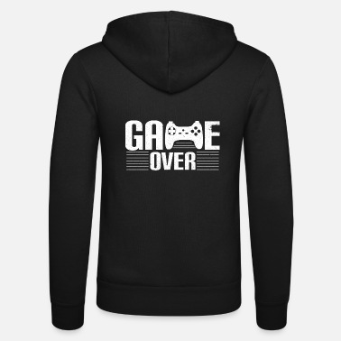Game Over Game over - Unisex zip hoodie