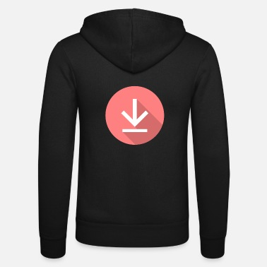 Download Download icon, download icon - Unisex Zip Hoodie
