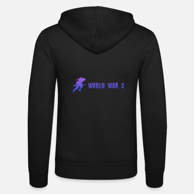 World WW3 - Soldier (World War 3) - Unisex Zip Hoodie
