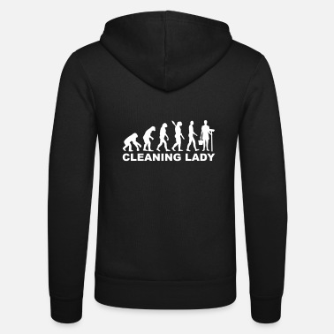 Clean What It Is cleaning woman - Unisex Zip Hoodie