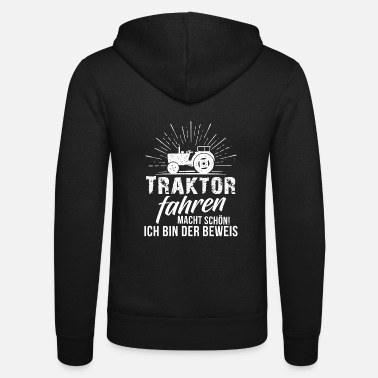 Tractor Tractor Shirt · Agriculture · Tractor Driving - Unisex Hooded Jacket by Bella + Canvas